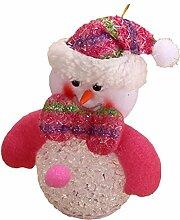 SSITG Weihnachten Schneemänner LED Beleuchtung