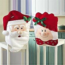 SSITG Weihnachten Stuhl Abdeckung Stuhlbezug