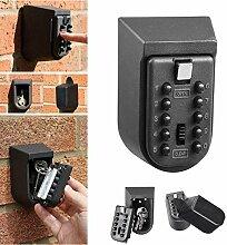 Ssiyun Mini Aluminiumlegierung Wand Key Safe Box