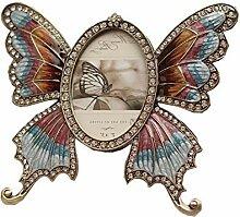 SSJIA Fotorahmen Schmetterling Metall Fotorahmen