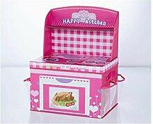 SSQQ-Familie Küche Aufbewahrungsbox, Faltbox