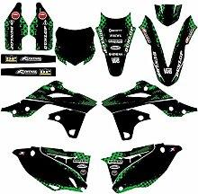 SSSSY 3D Motorrad Aufkleber for Kawasaki KX250F