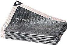 SSZY Sonnenschutznetz Aluminet Schattentuch für