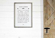 St234tyet Audrey Hepburn Buchseitenschild – I