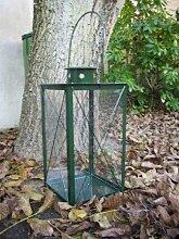 Stabile Stallaterne Laterne Gartenlaterne Höhe 73cm