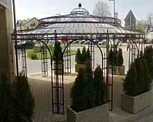 Stabiler Gartenpavillon Ø 550cm aus Metall, verzinkt Pavillon