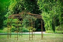 Stabiler Gartenpavillon aus Metall, ROST 250cm , Pavillon