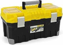 Stabiler Werkzeugkoffer Werkzeugtasche TITAN Profi + Heimwerker 550x290x28