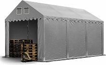 Stabiles Lagerzelt 4x6 m Zelthalle mit Bodenrahmen
