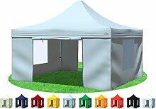 Stabilezelte Faltpavillon 4x4 Meter Professional