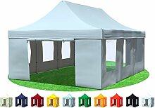 Stabilezelte Faltpavillon 4x6 Meter Professional