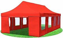 Stabilezelte Faltpavillon 4x8 Meter Prof. Plus+