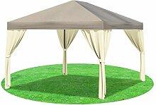 Stabilezelte Pavillon 3x4 Meter Sahara Polyester