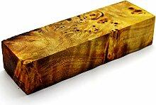 Stabilisiertes Wurzelholz Holzblock zum Drehen