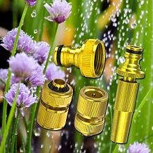 STABILO Sanitaer Gartenschlauch Anschluß System