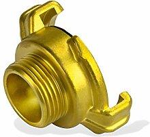 Stabilo-Sanitaer Messing Gewindestück, geeignet