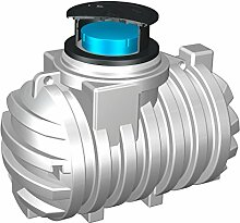 Stabilo-Sanitaer Trinkwasser-Erdtank 2200l Trinkwassertank Trinkwasserbehälter Zisterne Kunststofftank Erdtank Trinkwasser