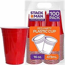 Stack Man Einwegbecher für kalte Getränke, 473