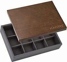 Stackers Mini-Box für Manschettenknöpfe,