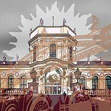 StadtKUNST - das Original Bild auf Aluminium