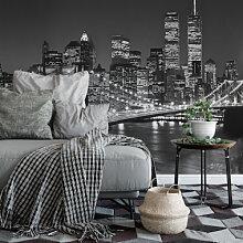 Städte & Reise - Fototapete Papiertapete Brooklyn Bridge