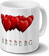 Städtetasse Arzberg - Design Herzballons -