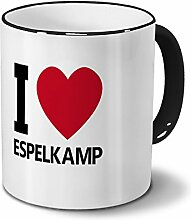 Städtetasse Espelkamp - Design I Love Espelkamp