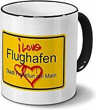 Städtetasse Flughafen - Stadt Frankfurt am Main -