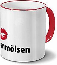 Städtetasse Hohenmölsen - Design Kussmund