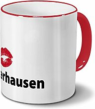Städtetasse Oberhausen - Design Kussmund