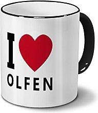 Städtetasse Olfen - Design I Love Olfen