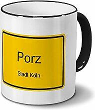 Städtetasse Porz - Stadt Köln - Design