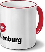 Städtetasse Tecklenburg - Design Kussmund
