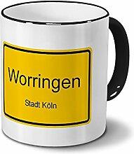 Städtetasse Worringen - Stadt Köln - Design