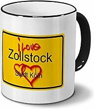 Städtetasse Zollstock - Stadt Köln - Design