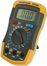 Ständer Design Voltmeter Amperemeter Ohmmeter Digital Multimeter Gelb Dunkelgrau
