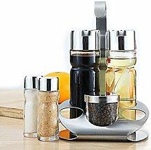 Ständer Öl Essig Spender Salz Pfeffer Shaker