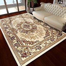 Stärkere Couchtischmatten / Continental Stil Wohnzimmer Sofa Teppich / Schlafzimmer Nacht großen Teppich ( größe : 133*190cm , stil : B )