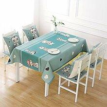 Stafeny Rechteckige Tischdecke mit 6 Sitzen,