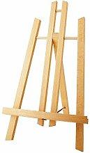 Staffelei Tischstaffelei Holz Mini Tischplatte