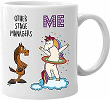 Stage Manager Mug Funny Unicorn Gifts for Women