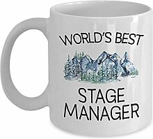 Stage Manager Mug - Funny World's Best Gift
