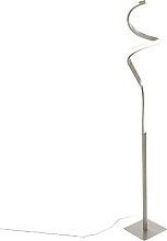 Stahl Design Stehleuchte inkl. LED mit Touch