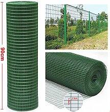 Stahl grün PVC-beschichtet, verzinkt Drahtgitter Zaun für Garten Border