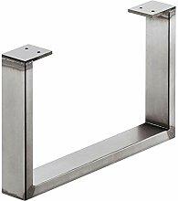 Stahl-Möbelkufe Möbelfuss zum Anschrauben |