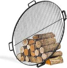 Stahlgrillrost mit 4 Griffen (Größe Grillrost:
