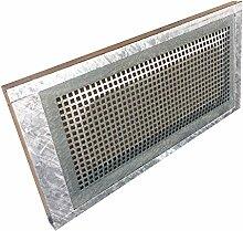 Stahlkellerfenster 1-flüglig 80 x 40cm ESG-Verglasung, Schrauben, Maueranker, Insektenschutz, Sicherungsschloss