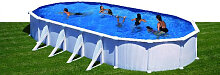 Stahlwandpool Schwimmbad 1000x550cm