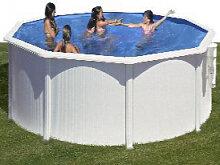 Stahlwandpool Schwimmbad 460cm