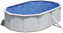 Stahlwandpool Schwimmbad 500x350cm